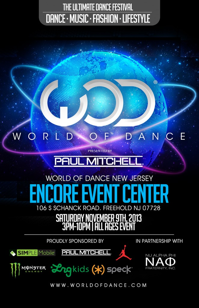 WORLD OF DANCE hosting Rep Your Style All Style and Breaking Battle!!!