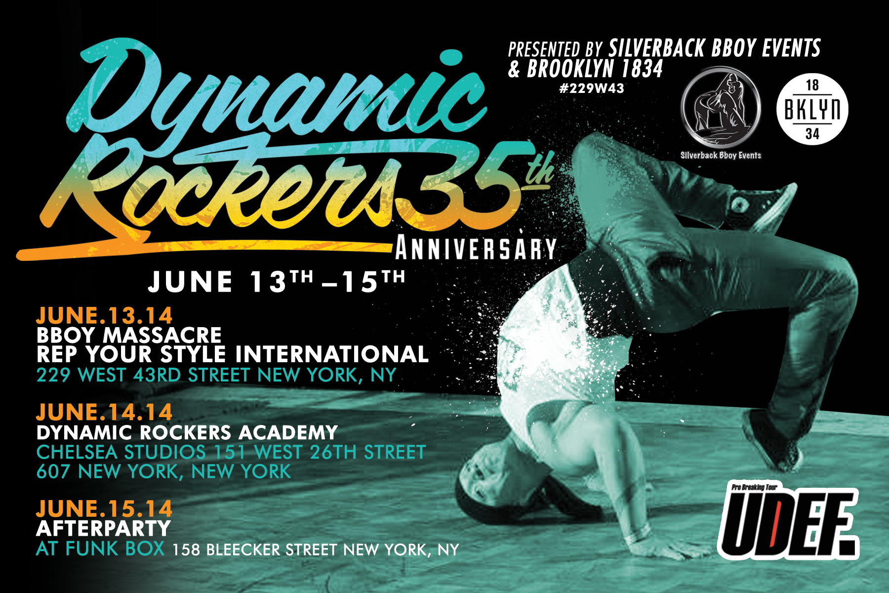 DYNAMIC ROCKERS 35TH YEAR ANNIVERSARY
